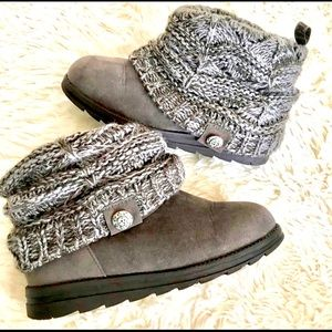 Muk Luks Patti Sweater Boots